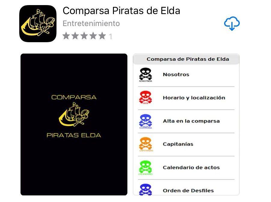 La Comparsa de Piratas tiene App