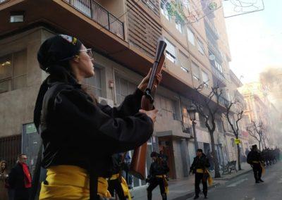 A disparar en Honor a San Antón
