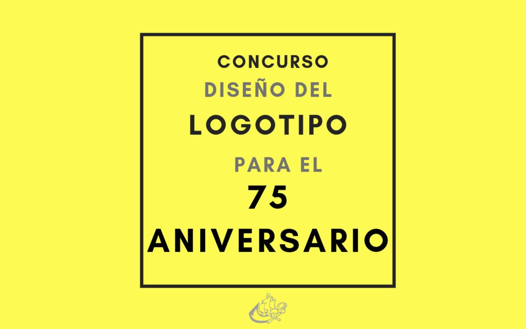 El plazo de preinscripción para el concurso de diseño del logotipo del 75 Aniversario ya está abierto